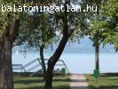 Balatonszárszón strandra néző telek eladó