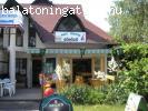 Balatoni  vizközeli üzlet eladó