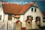 Zalaszántó szép panorámás részén családi ház