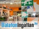 Siófoki bevásárlóközpont üzletsorán üzlet eladó