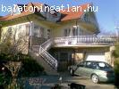 Balatogyöröki panorámás ház eladó